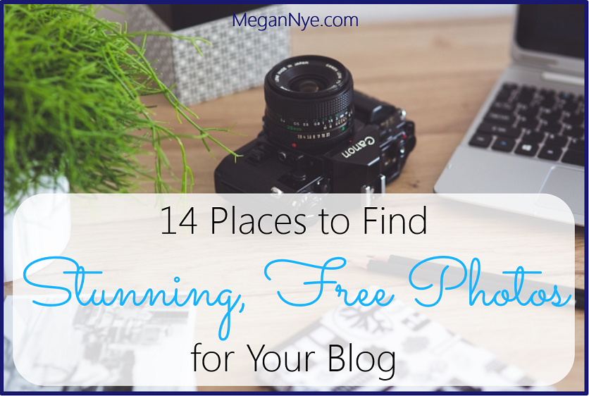 14 Places to Find Stunning, Free Photos for Your Blog